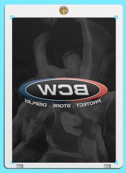 1 BCW 120PT 1-SCREW SCREWDOWN CARD Holder 120 pt trading spo