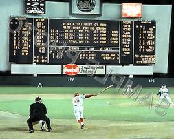 1967 NEW YORK METS SHEA STADIUM SCOREBOARD BASEBALL 8X10 PHO