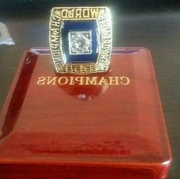 1969 NEW YORK METS Championship Ring World Series 18k GOLD P