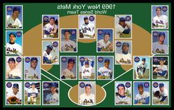 1969 new york mets custom baseball card