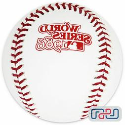 1986 world series official mlb game baseball