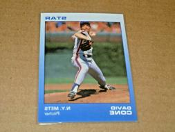 1988 Star Company David Cone New York Mets PROMO Card BLUE