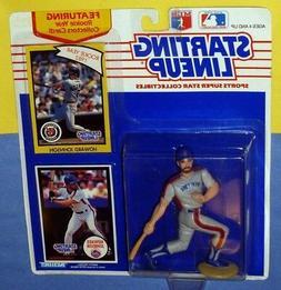 1990 HOWARD JOHNSON New York Mets NM- * FREE s/h* Starting L