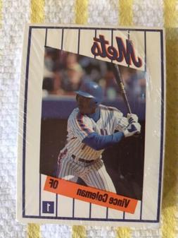 1991 Kahns New York Mets Team Set Sealed