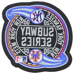 2000 Subway Series MLB World New York Mets Yankees Sleeve Je