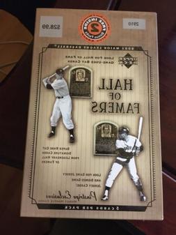 2001 Upper Deck Hall of Famers Baseball Sealed Blaster 12 Pa
