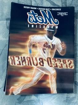 2005NEW YORK METS MAGAZINE Jose Reyes :the Speed Burner,rare