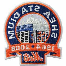 2008 New York Mets Shea Stadium Closing Jersey Sleeve MLB Lo