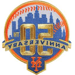 2012 New York Mets 50th Anniversary Season Jersey Emblem Log
