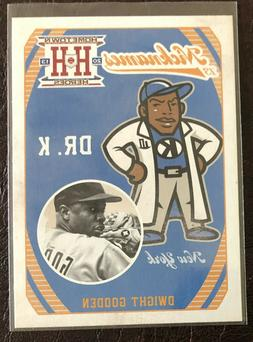 2013 Hometown Heroes Nicknames insert #N2 DWIGHT GOODEN New