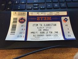 2015 NEW YORK METS SEASON TICKET STUB PICK YOUR GAME NOAH SY
