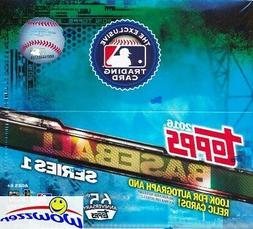 2016 Topps Series 1 Baseball HUGE 24 Pack Factory Sealed Ret