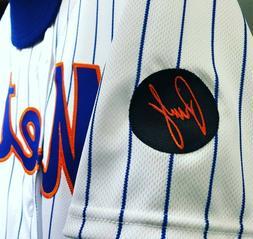 ⚾ 2018 RUSTY STAUB New York Mets Memorial Jersey Sleeve Ir