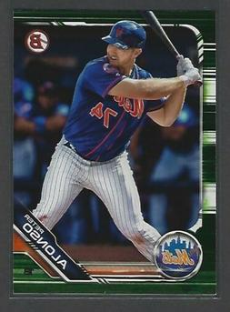 2019 Bowman Pete Alonso Camo Green Parallel - New York Mets!