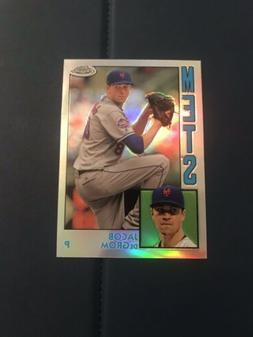 2019 Topps Chrome 1984 Insert Jacob DeGrom #84TC-6 New York