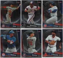 2019 Topps Finest Baseball - Base Set Cards - Choose From Ca