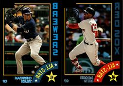 2019 TOPPS SERIES 2 1984 ALL-STARS BLACK /299 INSERT SINGLES