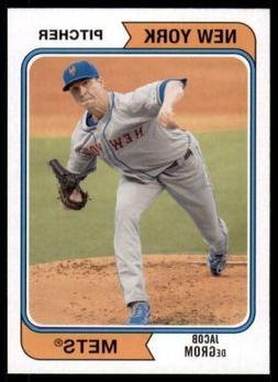 2020 Archives Base #116 Jacob deGrom - New York Mets
