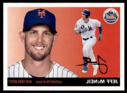 2020 Archives Base #42 Jeff McNeil - New York Mets