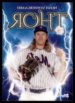 2020 Archives Nickname Poster #309 Noah Syndergaard - New Yo