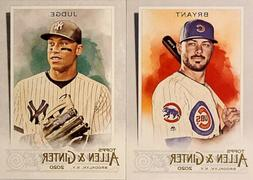 2020 Topps ALLEN & GINTER 1-250 ** Pick Your Card ** $1 SHIP