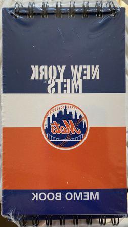 3 New York Mets Memo Books, JF Turner  NEW IN SHRINK, Offici