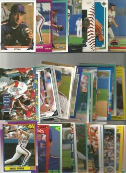 300+ NEW YORK METS  BASEBALL TRADING CARD LOT w/ some 2016-1