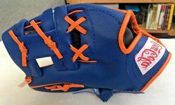 4/15/18 New York Mets Kids/Youth Baseball Glove SGA Coca-Col