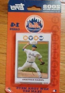 72008 Topps Baseball New York Mets Team Set Factory Sealed o