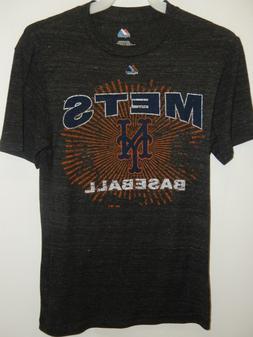 "9601-9 Mens MAJESTIC Apparel NEW YORK METS ""Team Logo"" Jerse"