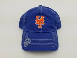 Blue New York Mets MLB Embroidered Cap Buckle Strap