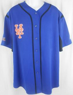 Brand New MLB Men's New York  Mets Majestic Embroidered Wind