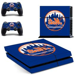 Choose Console - New York Mets - Vinyl Skin + 2 Controller S