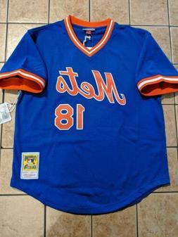 Darryl Strawberry New York Mets Mitchell & Ness BP Batting P