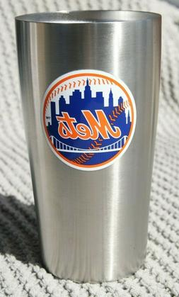 Duck House New York Mets Thermo Cup 14oz Stainless Steel Dou