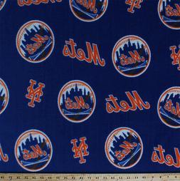 Fleece New York Mets MLB Baseball Team Sports Blue Fleece Fa
