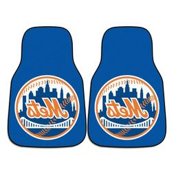 Front Car Mats - Set of 2 - New York Mets