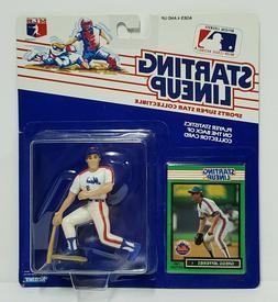 GREGG JEFFERIES New York Mets Starting Lineup MLB SLU 1989 A