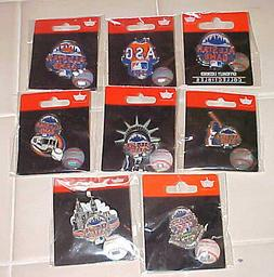 GROUP OF 8 DIFFERENT 2013 ALL STAR GAME LOGO PINS NEW YORK M