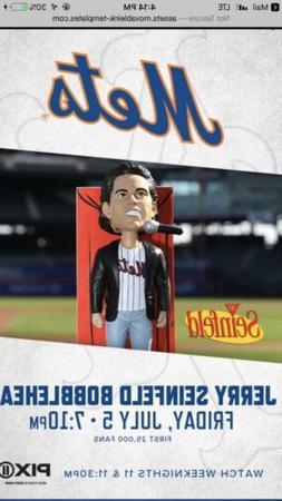 Jerry Seinfeld New York Mets 2019 Bobblehead SGA 7/5/19 Sein