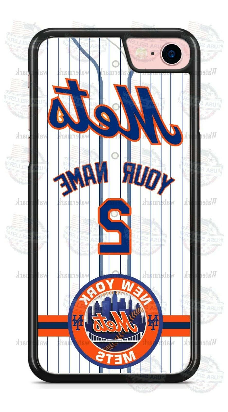 NEW YORK METS BASEBALL CUSTOMIZED PHONE CASE COVER FITS iPHO