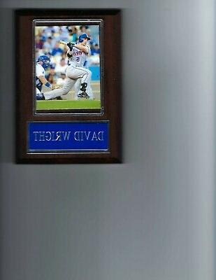 david wright plaque baseball new york mets