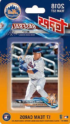 New York Mets 2018 Topps Factory Sealed Team Set THOR Harvey