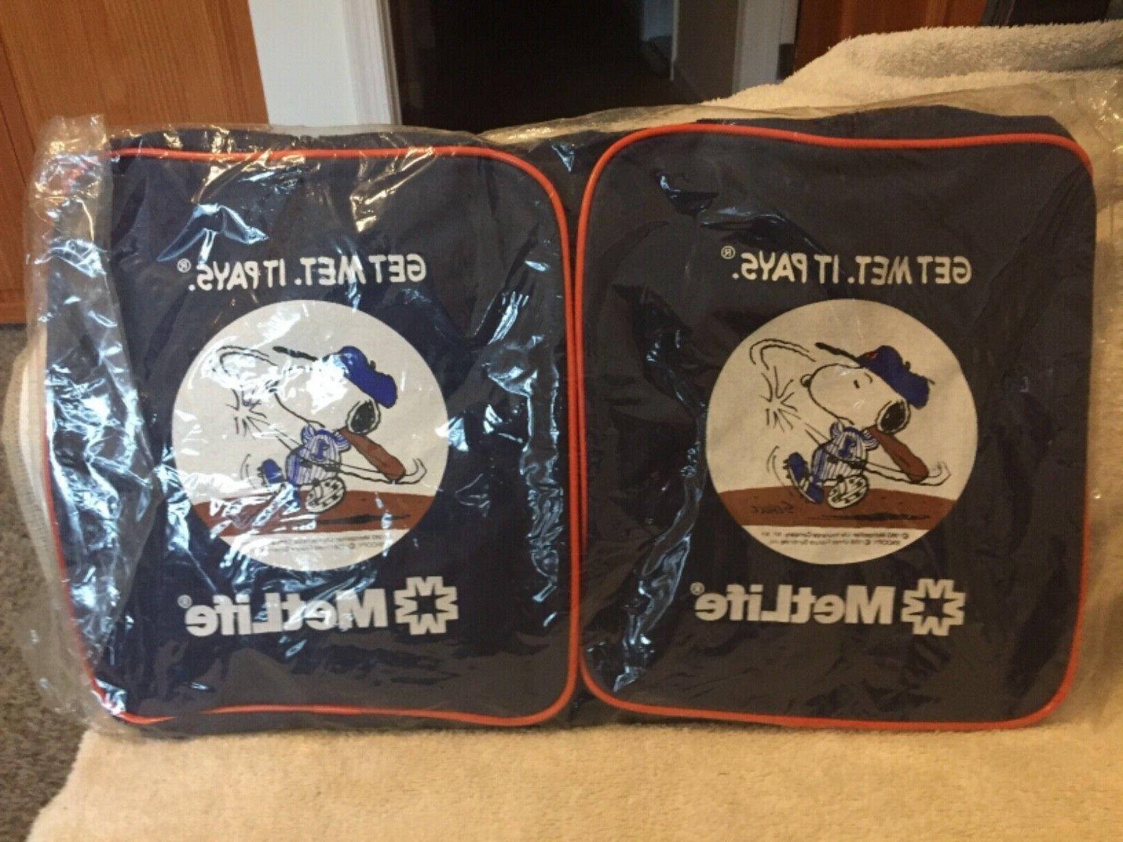 New Mets *MetLife Promotional Gym / Bag A Swing 1993