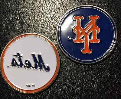New York Mets MLB 2 Sided Golf Ball Marker - Brand New