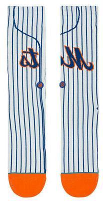 New York Mets Stance MLB Alternate Pinstripe Home Jersey Soc