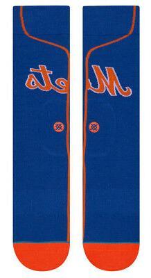 New York Mets Stance MLB Alternate Royal Blue Jersey Socks L