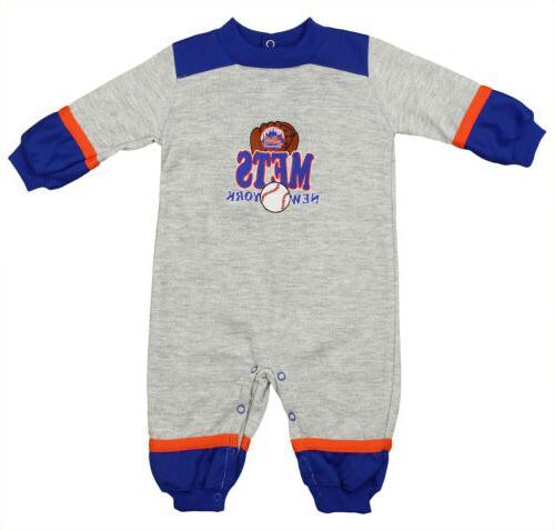 new york mets mlb baby boys infant