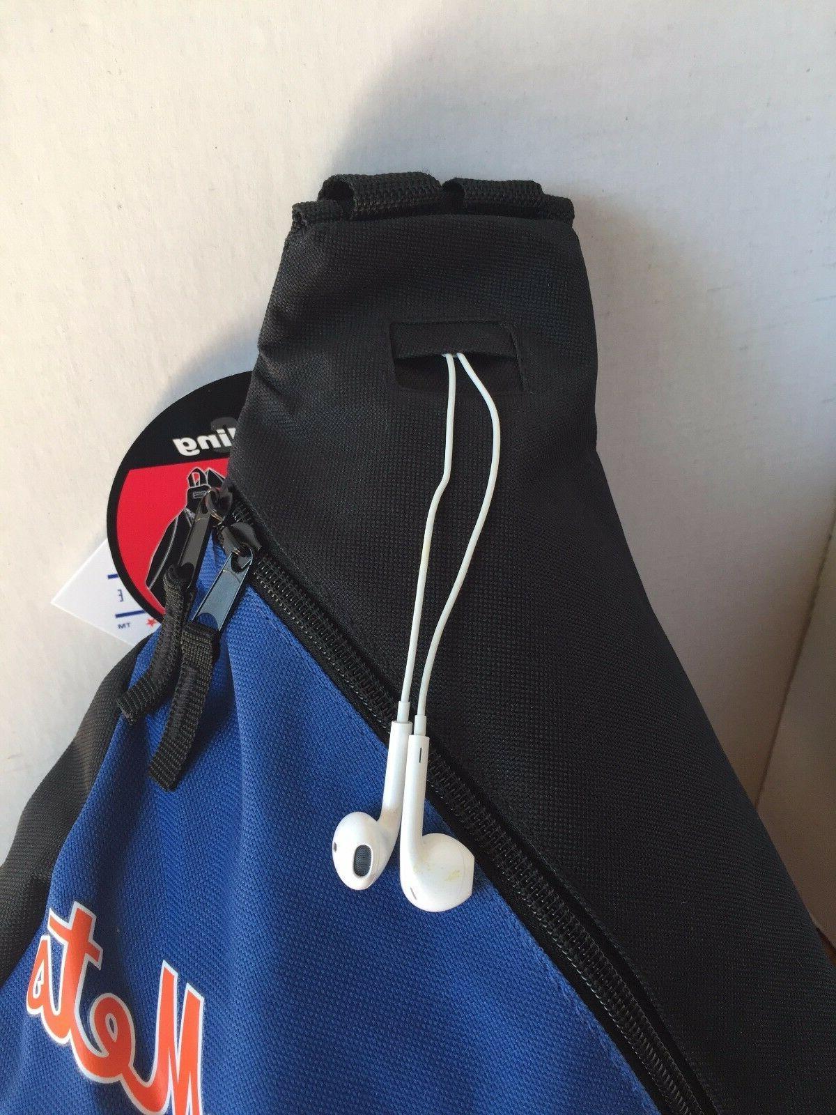 NEW YORK METS- Vintage Blue Sling Bag Back Pack Slingshot