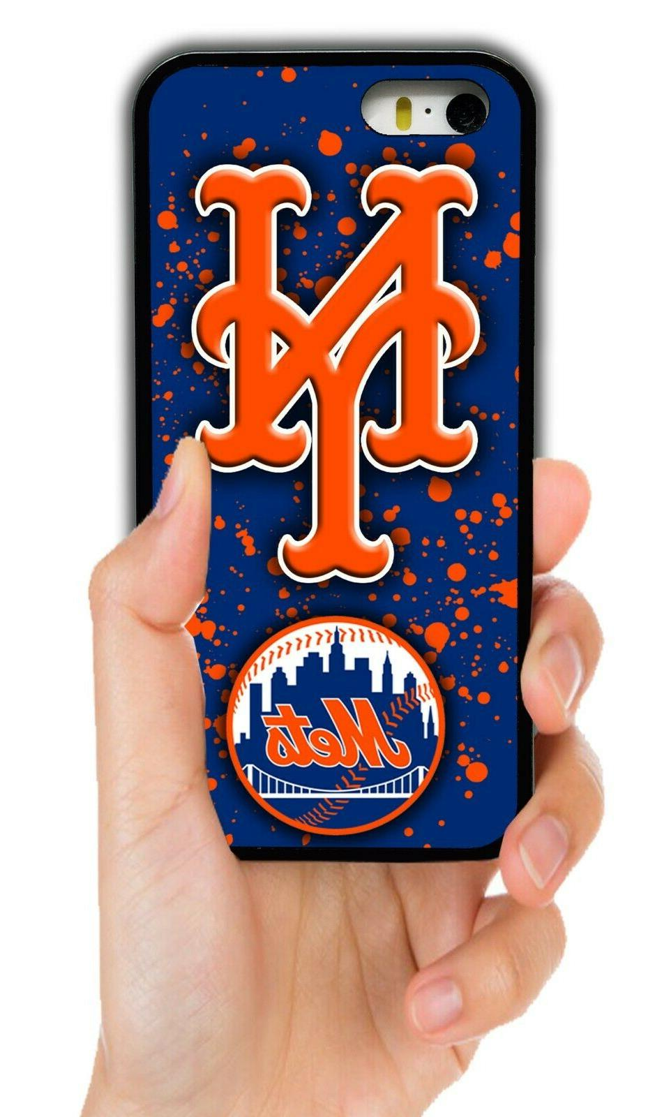new york mets rubber phone case cover
